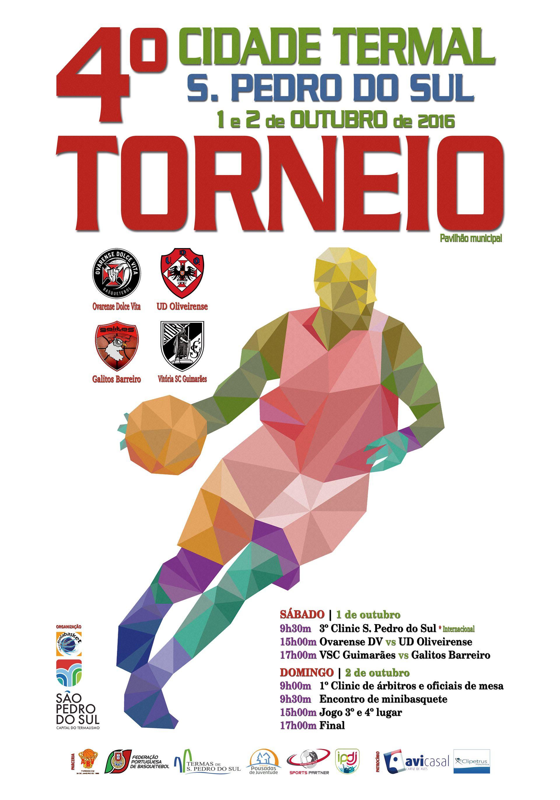 AVICASAL apoia o 4º Torneio Cidade Termal S.Pedro do Sul