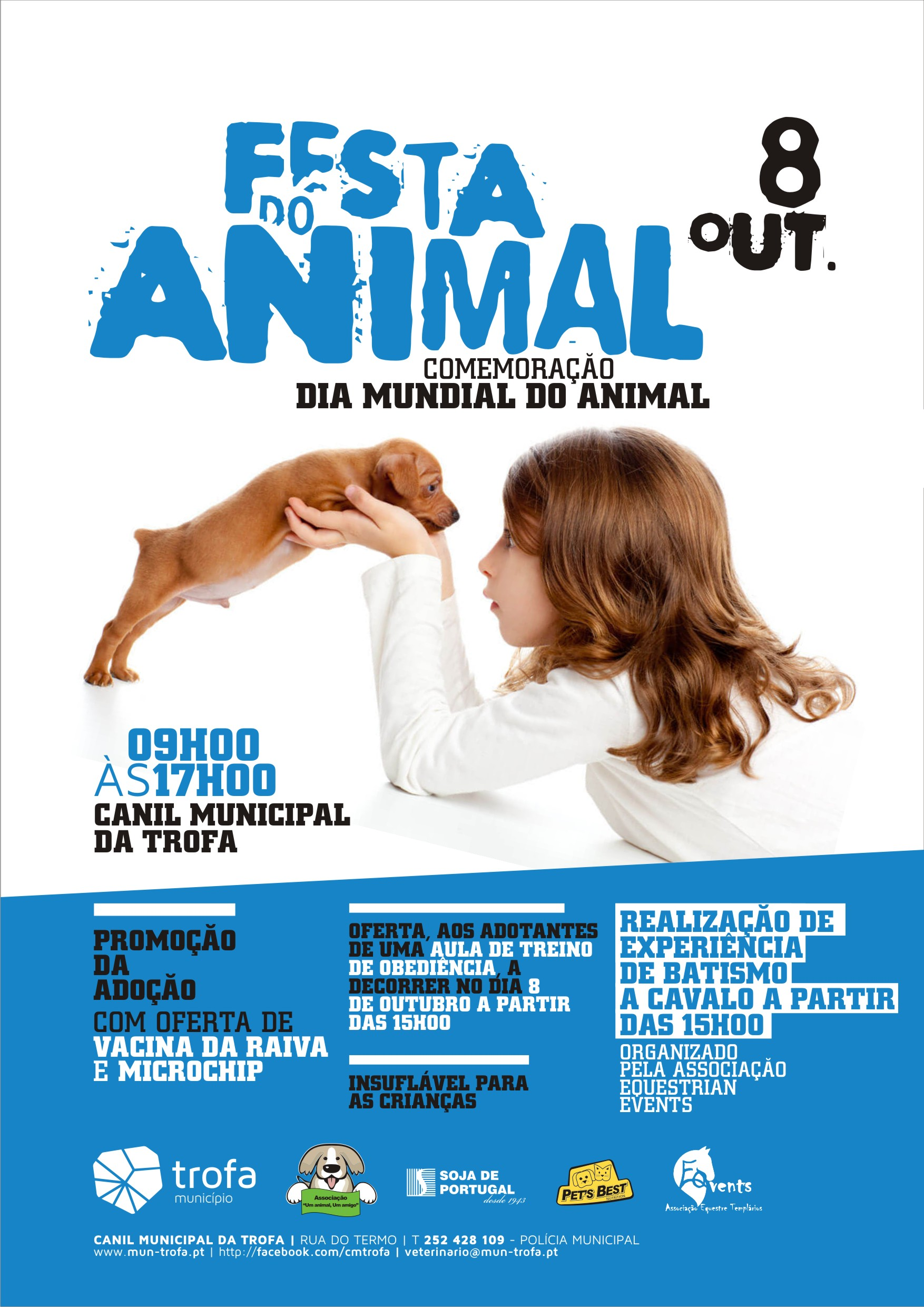 "PET'S BEST apoia ""Festa do animal"" da Camara Municipal da Trofa"