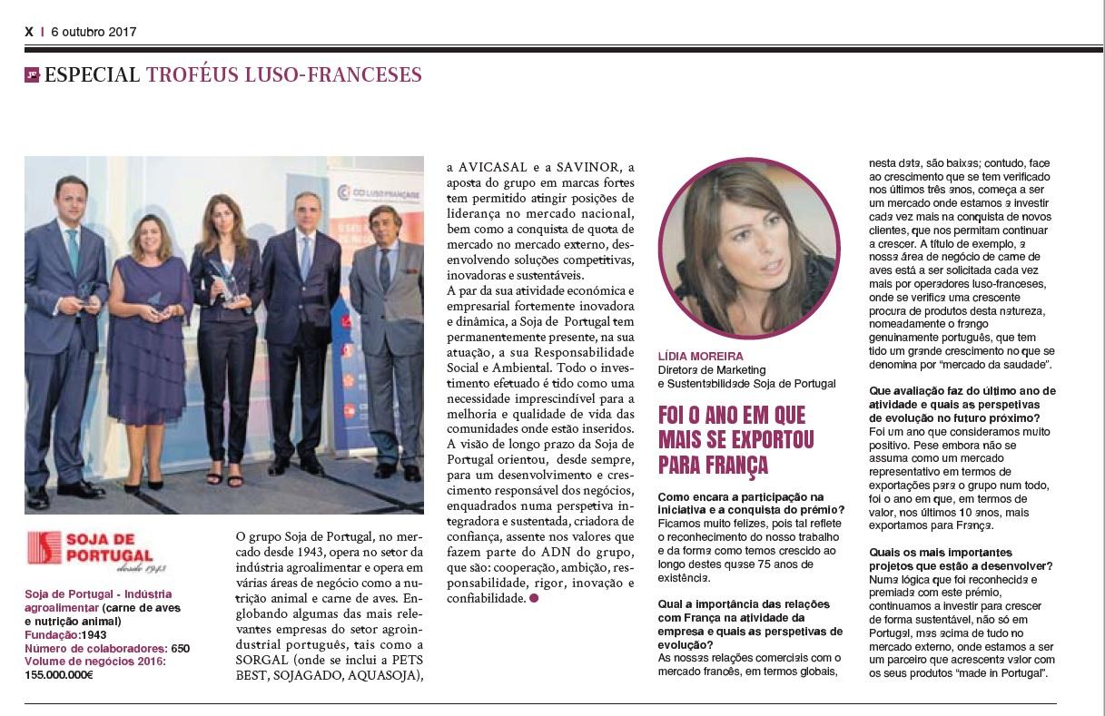 Jornal Económico - Troféus Luso-Franceses