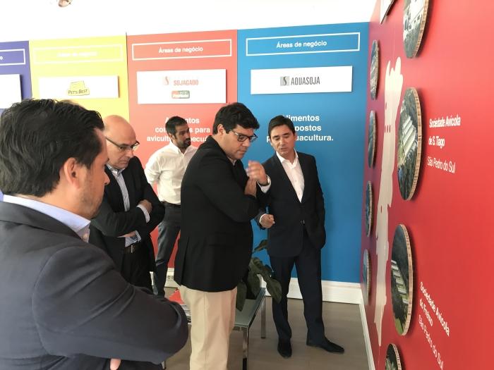 Visita do Secretário de Estado da Internacionalização à Avicasal