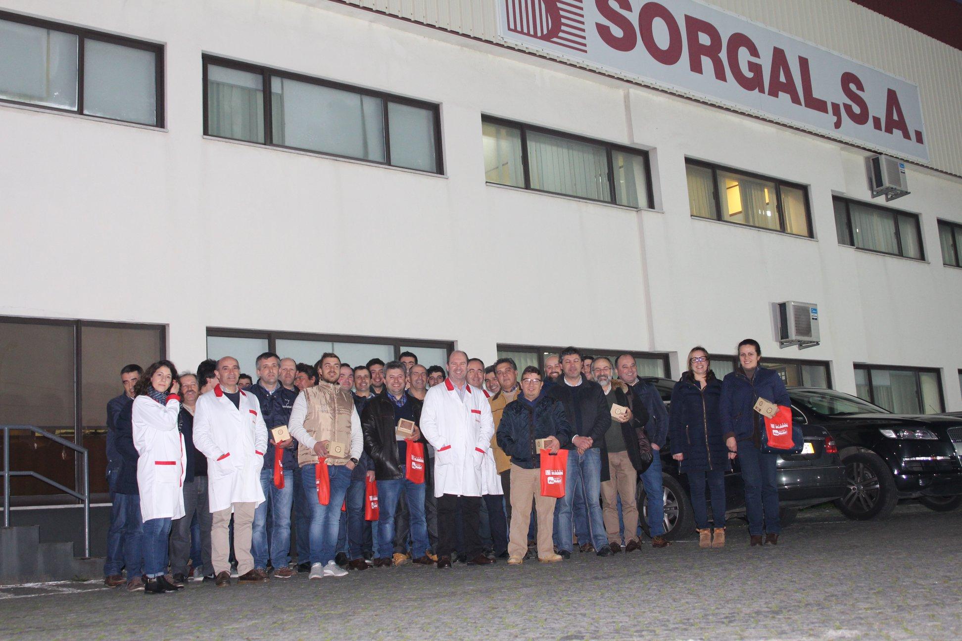 Sorgal recebe visita da APROLEP - Associação dos Produtores de Leite de Portugal
