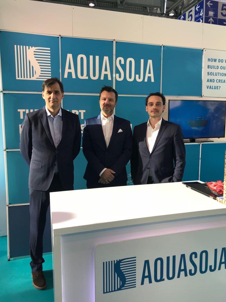 AQUASOJA marca presença na AquaFarm