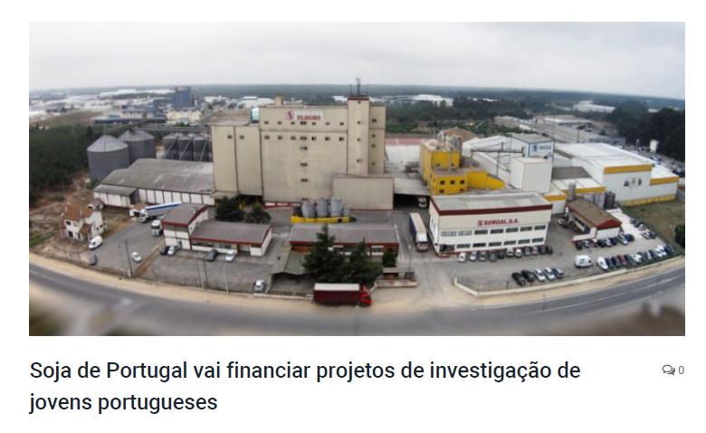 Soja de Portugal apoia três projetos da Universidade do Porto
