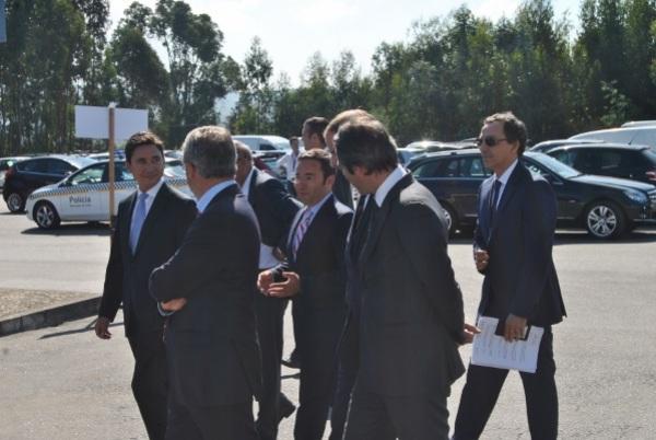 SAVINOR recebe Ministro do Ambiente para assinatura do Aditamento ao Contrato de Conformidade Ambiental