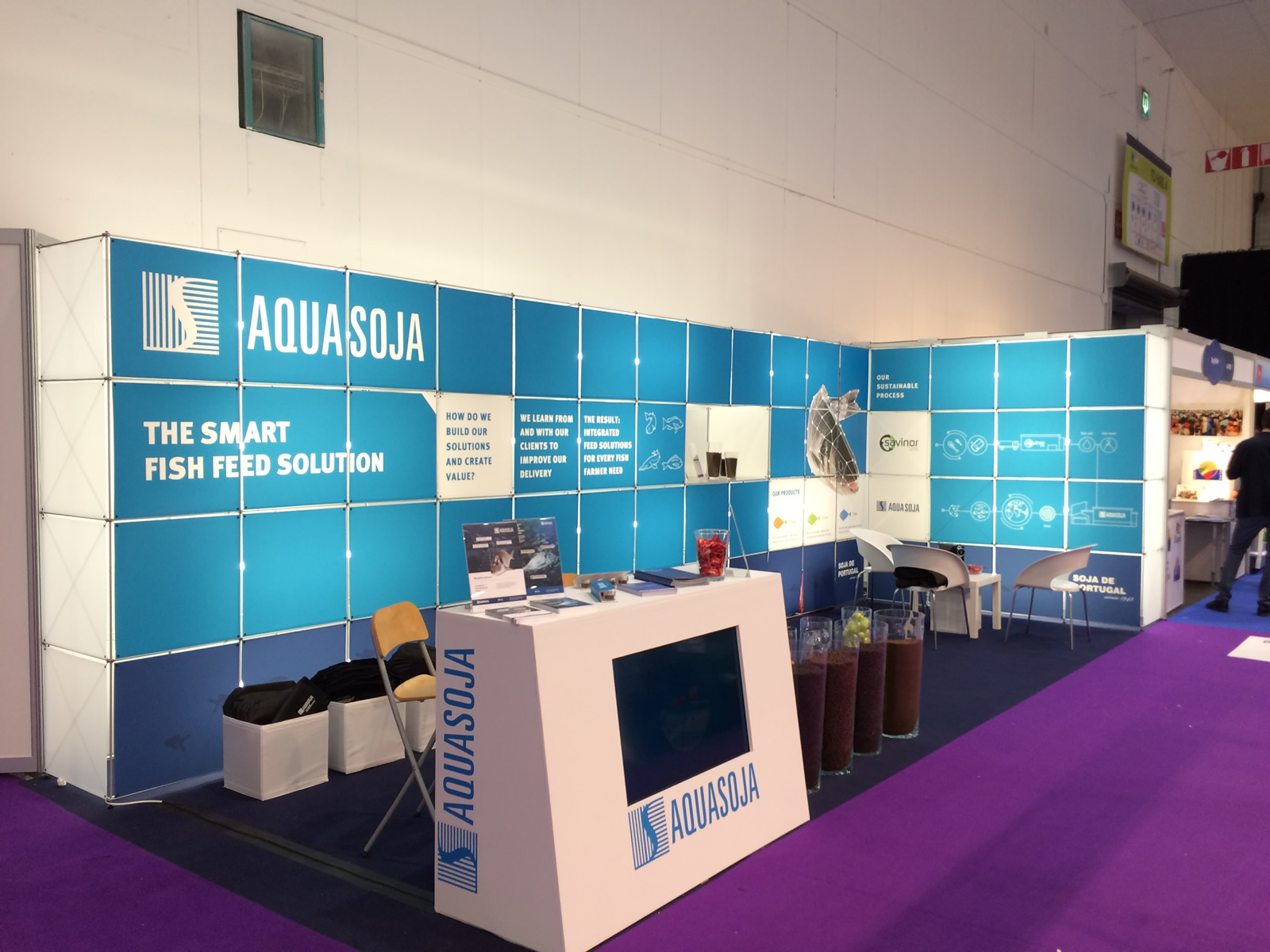 AQUASOJA e SAVINOR presentes na Seafood Expo Global