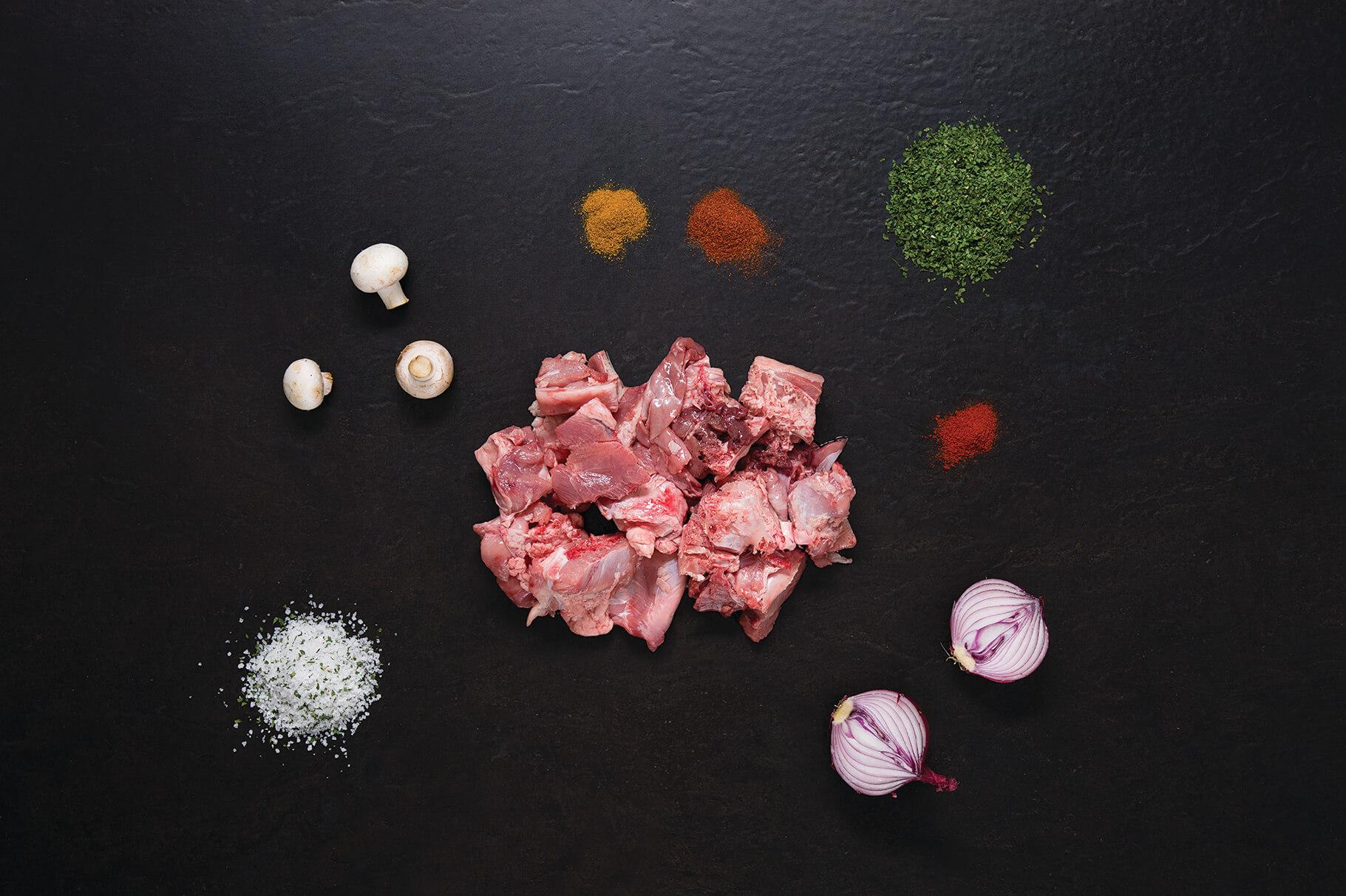 Guisar de Peru c/osso